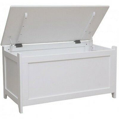 Kidiway Classic Toy Chest - White