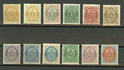 Iceland: nice group of classics, mint O.G., high catalog value