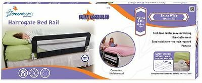 DREAM BABY HARROGATE BED RAIL 109CM x 45.5CMS FULLY ASSEMBLED NAVY BLUE