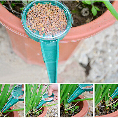 Plastic Sowing Tool Seeder Starter Round Dispense Seed Storage Sower Dial new