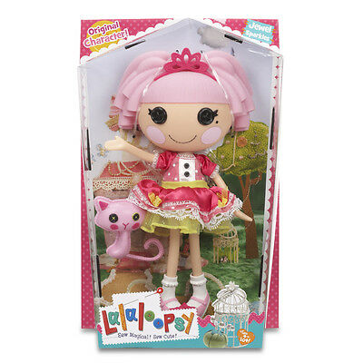 Lalaloopsy Large Doll Jewel Sparkles With Pet Cat NEW