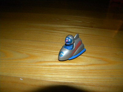 1983 Playskool Sesame Street Grover Space Rocket Ship Diecast Vehicle