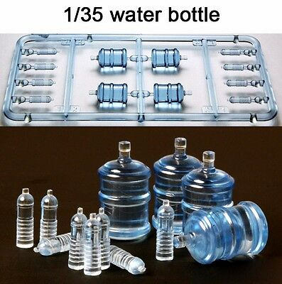 █ 1/35 Water Bottles Set for Vehicle/Diorama Unpainted Unassembled  TR022