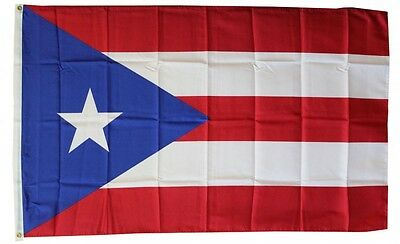 PUERTO RICO  FLAG 3 x 5 '  FLAG -  NEW 3X5 INDOOR OUTDOOR COUNTRY FLAG -