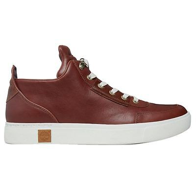 Timberland Amherst High Top Chukka Brown Mens Shoes