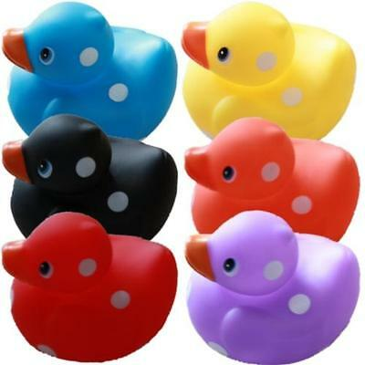 Small Mini Spotty Star Plain Heart Bathroom Rubber Duck Desk Buddy Ducks, H6cm