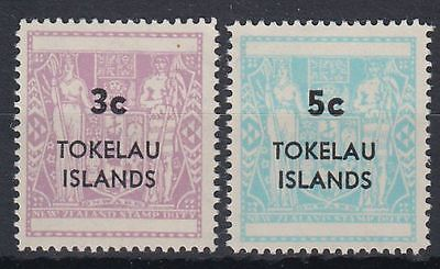 Tokelau 1967 ** Mi.P4/5 Freimarken Definitives [st1609]