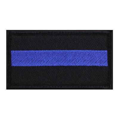 """Rothco Thin Blue Line Patch, Police, Law Enforcement Support, 1 7/8"""" x 3 3/8"""""""