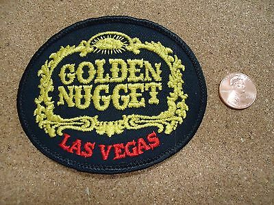 Vintage Golden Nugget Las Vegas Patch New Old Stock