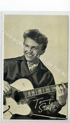 (Ld1342-464) Super Tommy Steele Lobby Card, Singer c1950 EX