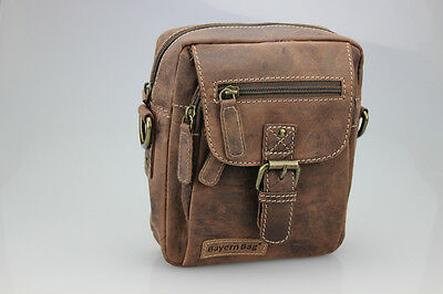 Premium Leder Gürteltasche Umhängetasche von Bayern Bag Hunter Collection 2 in 1
