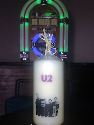 U2 Candle  Starz Crafts Unique Collection Limited Edition