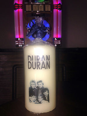 Duran Duran Candle   Starz Crafts Unique Collection Limited Edition