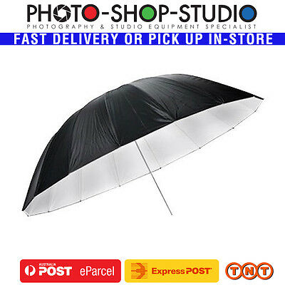 "Godox 75"" (185cm) Umbrella Black & Silver #UB-L3-75 for Studio Portrait Flash"