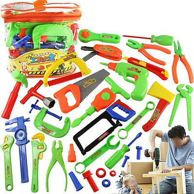34pcs/set Children toys Repair tools Baby Early Learning Education 2016