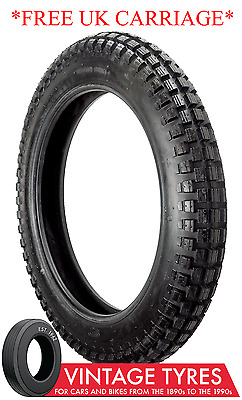 300-23 300x23 3.00-23 CHENG SHIN NEW TRIALS TYRE AND TUBE PACKAGE HONDA XL TRAIL