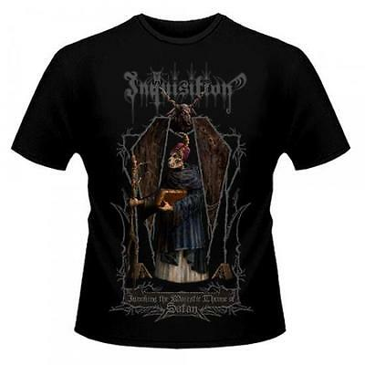 Inquisition - Invoking The Majestic Throne Of Satan T-Shirt-XL #91171 - XL