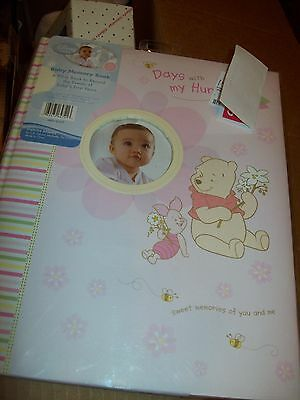 Memory Book For Baby Keepsakes Winnie The Pooh Girls Pink Color Place For Pictur