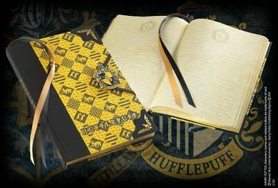 Agenda Diario con Stemma Tassorosso - Harry Potter Noble Collection