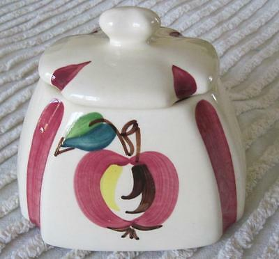 Purinton Pottery Hand Painted Covered Range Bowl Grease Jar