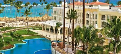 Iberostar Grand Bavaro Punta Cana Adults Only All Inclusive Vacation 11/1/19