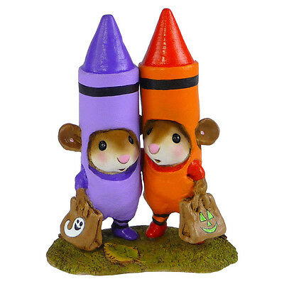 DRAWN TOGETHER by Wee Forest Folk, WFF# M-533 -Orange & Purple
