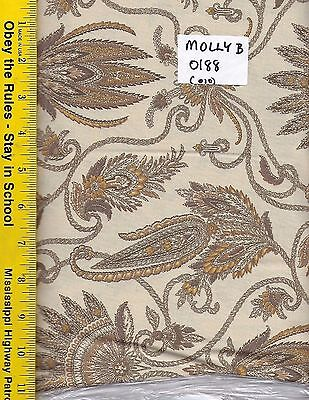 """100/% COTTON 108/"""" Wide Quilt Backing MARCUS BROTHERS MOLLY B/'S STUDIO 0188 BTY"""