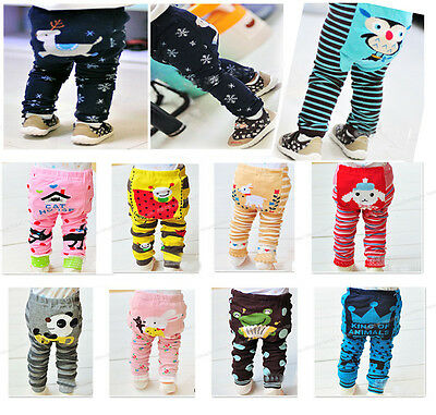 1 Pairs  Cute Baby Toddler Boys Girls Cotton Animal Tights Pants Bottoms