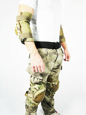 2 kneepads and 2 elbow Tactics Long Multicam Royal