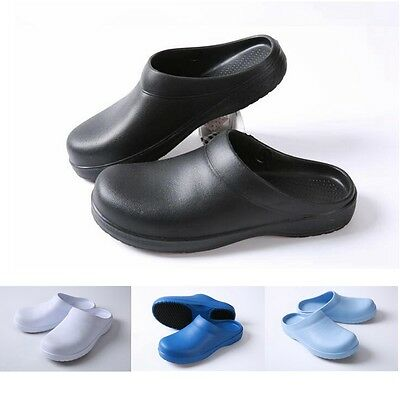 Men Women Chef Shoes In Kitchen Nonslip Safety Shoes Oil & Water Proof For Cook