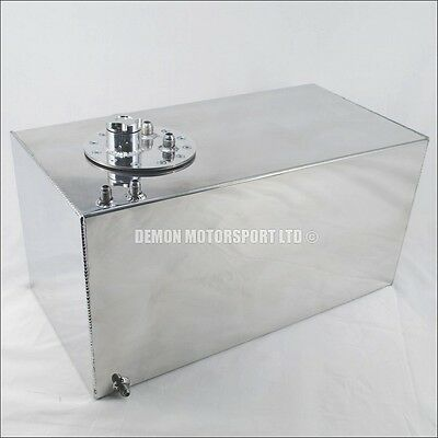 Alloy Fuel Tank Cell 11 Gallon / 50 Litres, AN6 -6 and AN8 -8 Polished (60271)