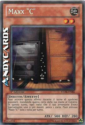 "EX ☻ Maxx ""C"" ☻ Segreta ☻ STOR IT086 ☻ YUGIOH ANDYCARDS"