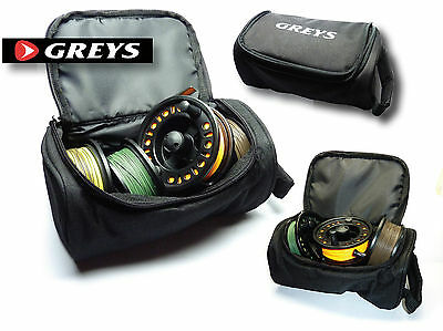 Greys Reel Case & an LA Cassette Fly Reel & 3 or 4 Ready Installed Fly Lines