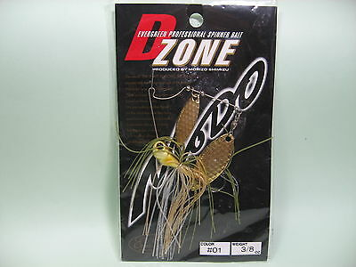 Ever green D-ZONE Spinnerbaits DW 3/8oz #01