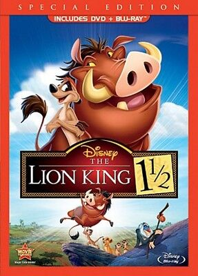 The Lion King 1 1/2 Blu-ray DVD 2012, 2-Disc Set SPECIAL EDITION Disney ANIMATED