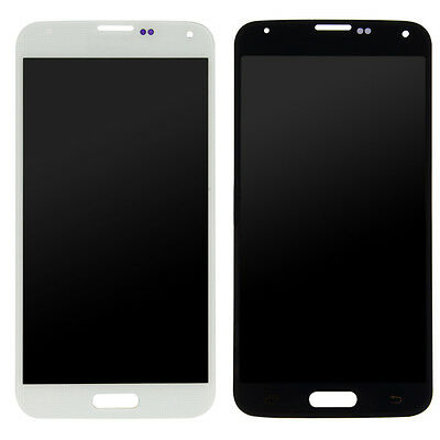 For Samsung Galaxy S5 LCD Display Touch Screen Digitizer+Frame Bezel Assembly