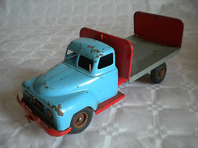 Vintage Tinplate Friction drive Beer Lorry GÖSO.Gama type truck