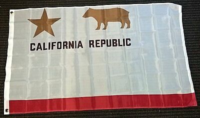 California Republic 1846 Historical Polyester 3x5 Foot Flag Outside Banner State