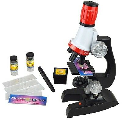 Fashion Children 1200X Illuminated Biological Microscope for Education Gift
