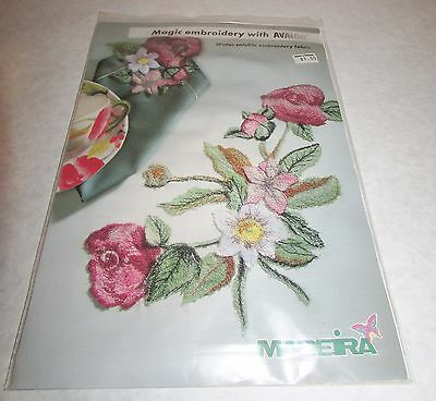 Avalon Water Soluble Embroidery Fabric Madeira Transparent Dissolving Polyvinyl