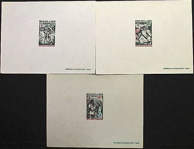 NIGER 1969 219-21 215-17 DELUXE League of Red Cross Societies Rotes Kreuz MNH