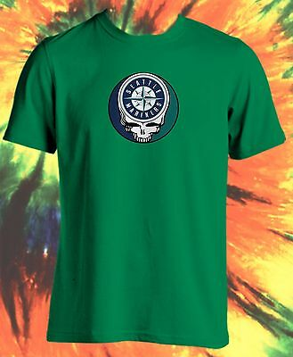 a991aa37fa0 CHICAGO CUBS STEAL Your Face Grateful Dead Jerry Garcia Mlb T-Shirt ...