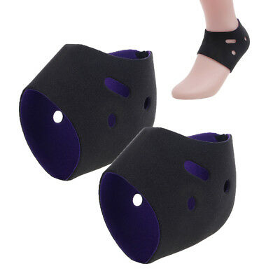 1 Pair Plantar Fasciitis Foot Arch Heel Pain Relief Sleeve Cushion Protector New
