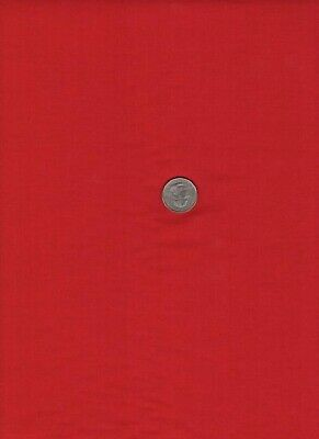 2Yd New 100% Cotton Quilt Sew Fabric Springs Natural Charm Christmas Red