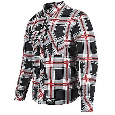 Speed and Strength Men's Rust and Redemption Armored Shirt Motorcycle Jacket