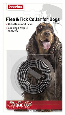 Beaphar Uk Ltd Beaphar Dog Plastic Flea & Tick Collar 60Cm