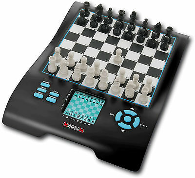 Millennium Europe II Chess Master Multi Game and Chess Computer (8 games in 1)