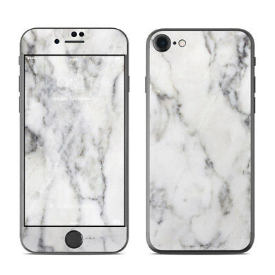 iPhone 7 Skin - White Marble - Sticker Decal