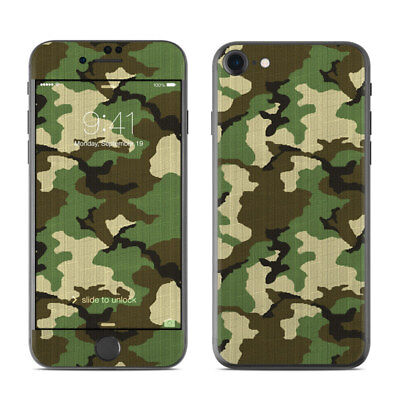 iPhone 7 Skin - Woodland Camo - Sticker Decal