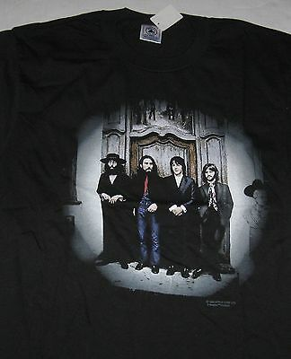 """The Beatles """"Hey Jude"""" All-Cotton T-Shirt Adult Medium Fully Licensed - Black"""